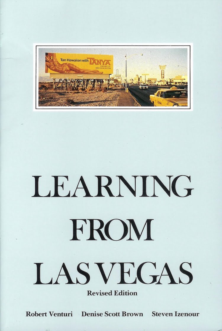 Learning from Las Vegas - 25 Books Every Architect and Architecture Lover Should Read