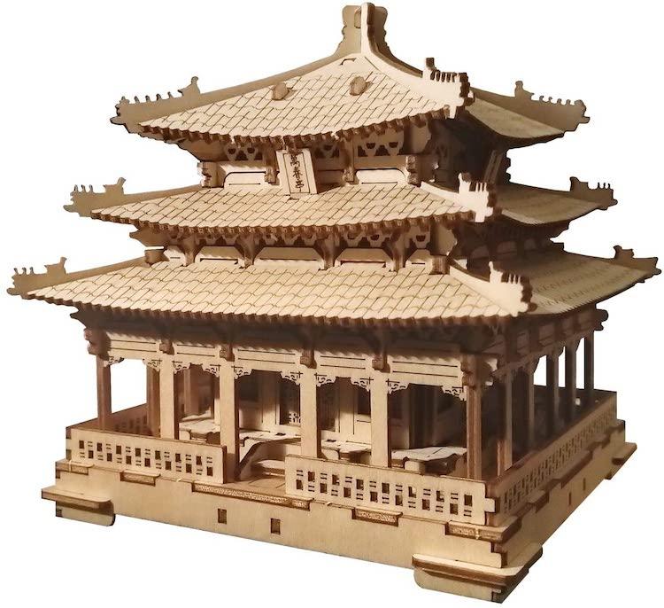 Wanchun Pavilion of Jingshan Park Model Kit