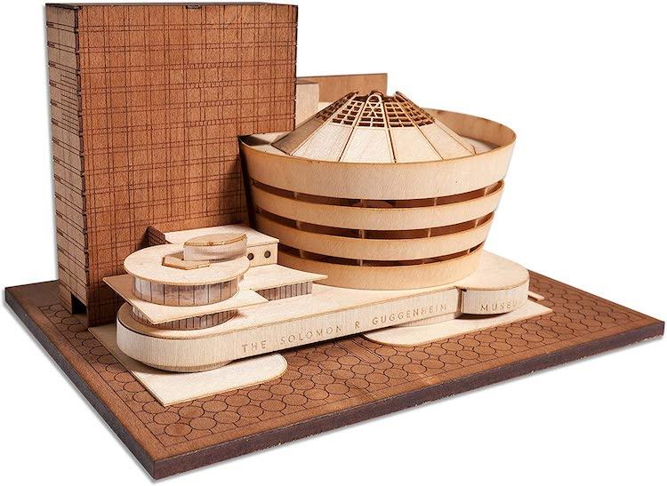 Guggenheim Museum Scale Model Kit