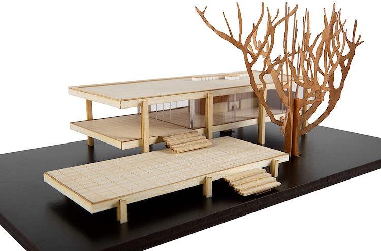 Farnsworth House Scale Model Kit