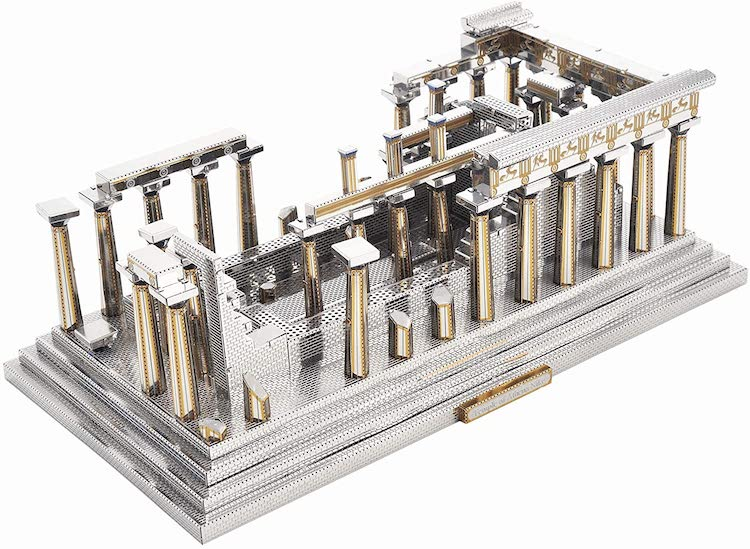 Temple of Athena Metal Model Kit