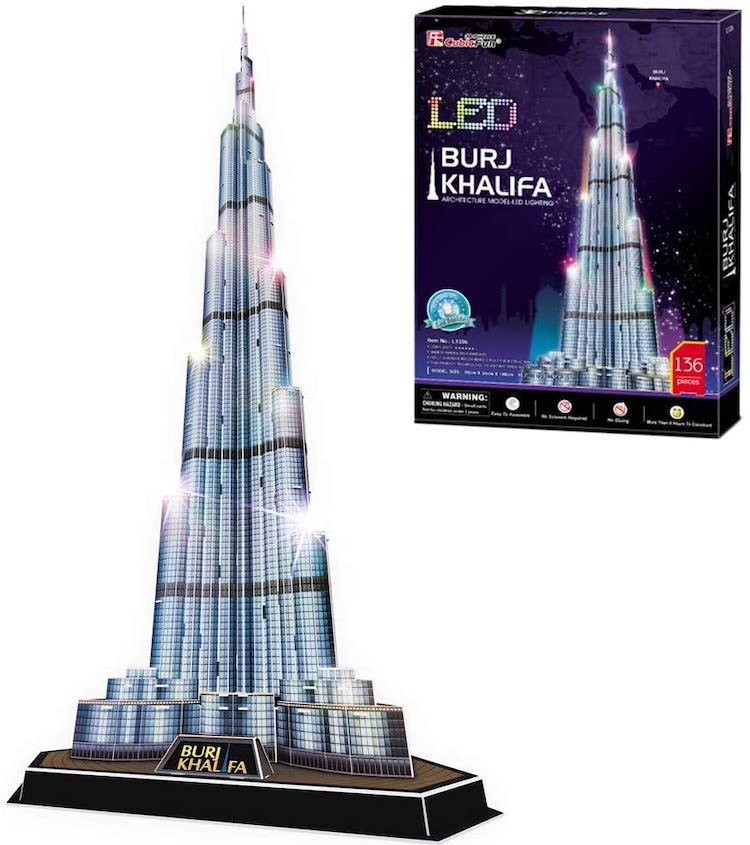 Dubai Burj Khalifa Building Kit