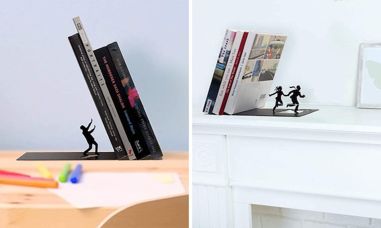 Cool Bookends by Artori Design