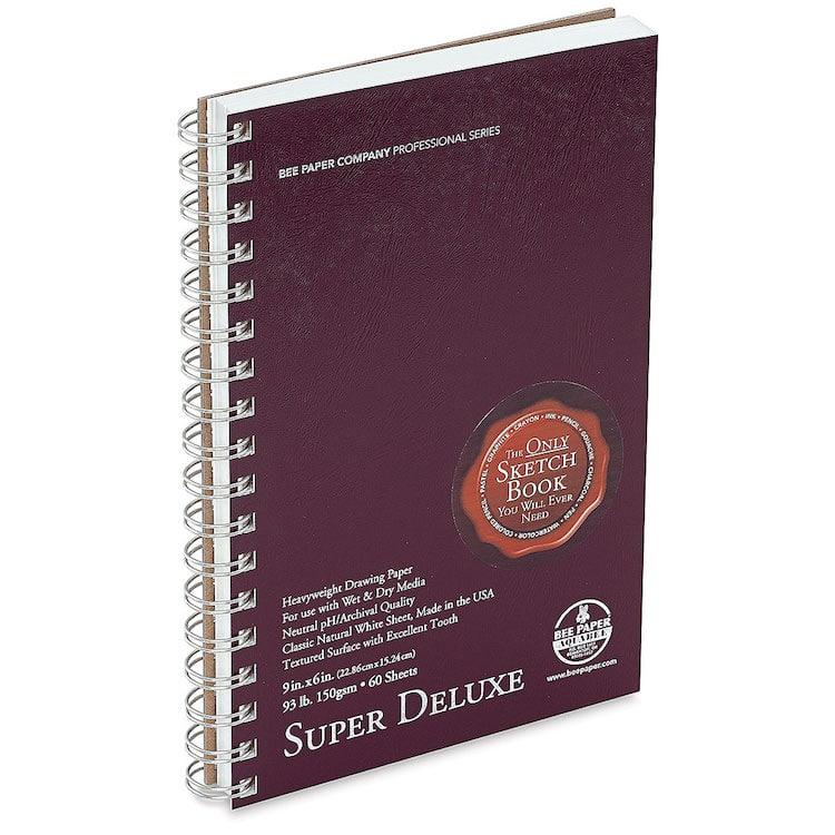 Cuaderno de bocetos deluxe de Bee Paper Aquabee