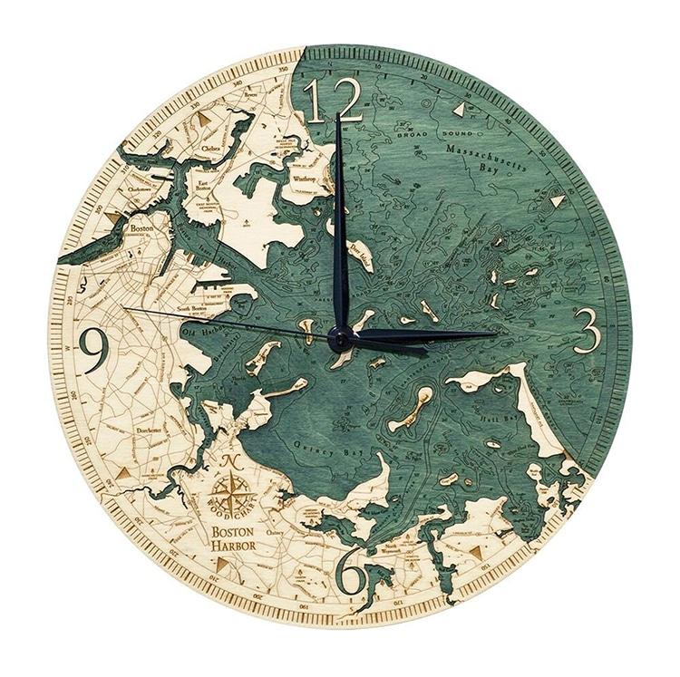 Boston Harbor Clock