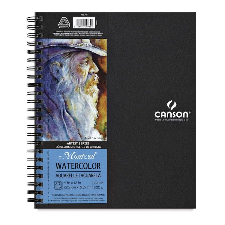 Canson Watercolor Sketchbook
