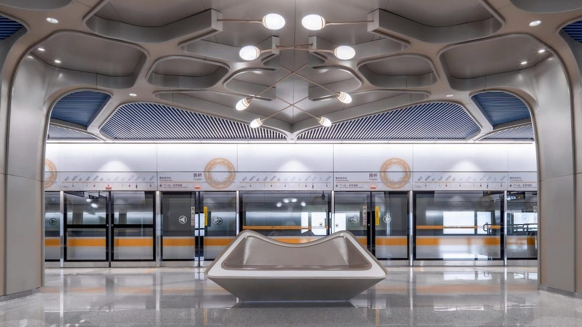 Chengdu's Fully-Automated Metro Line Is Now Open To the Public