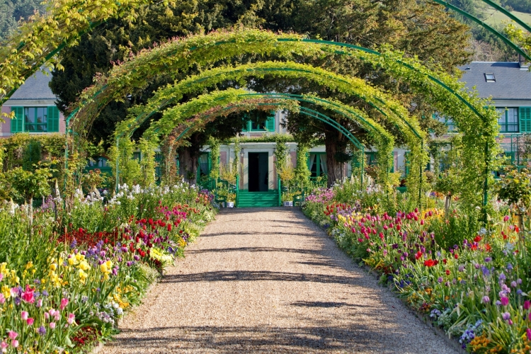 The Garden and House of Claude Monet at Giverny