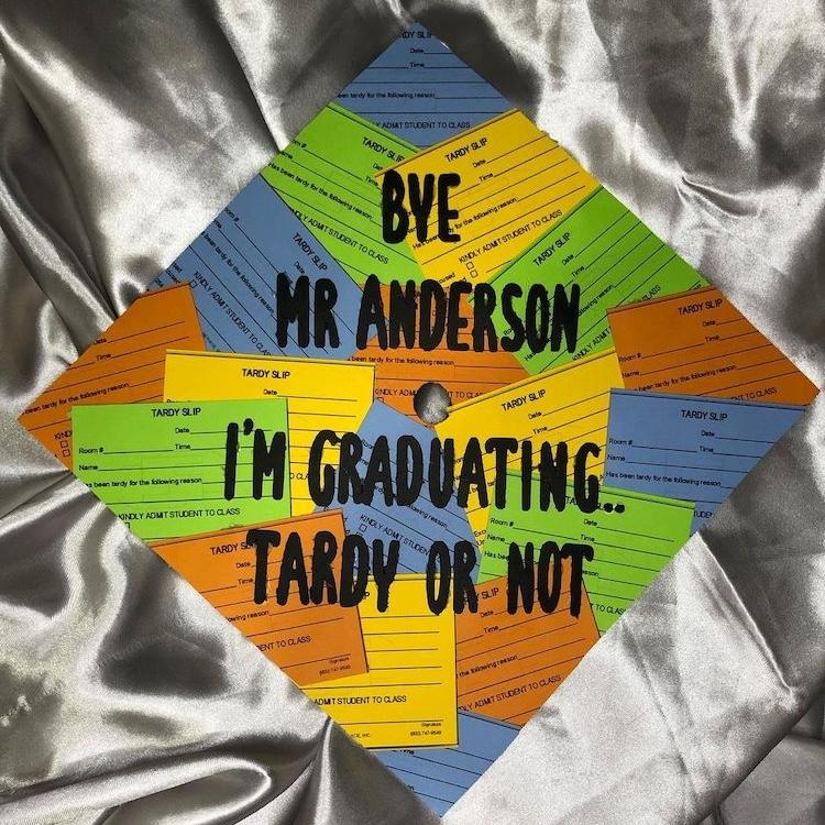 Funny Graduation Cap Design