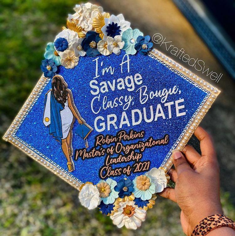 Creative Graduation Cap Design
