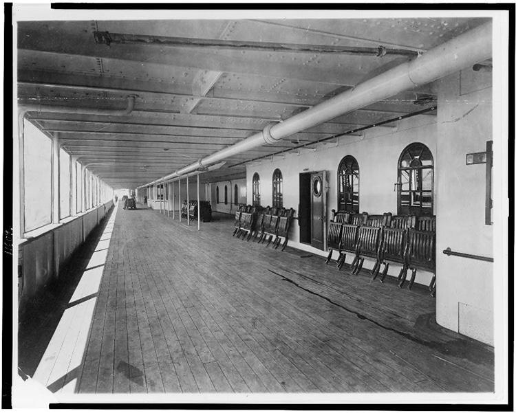 Deck of the Titanic