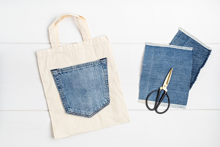 Upcycling Jeans For Tote Bags DIY