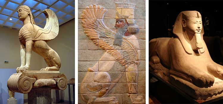 Ancient Egyptian Sphinxes