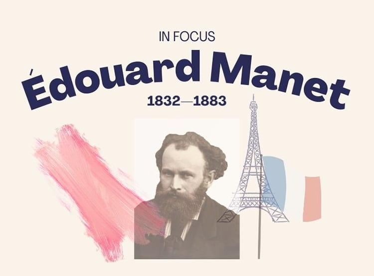 Edouard Manet Painter Impressionist Infographic
