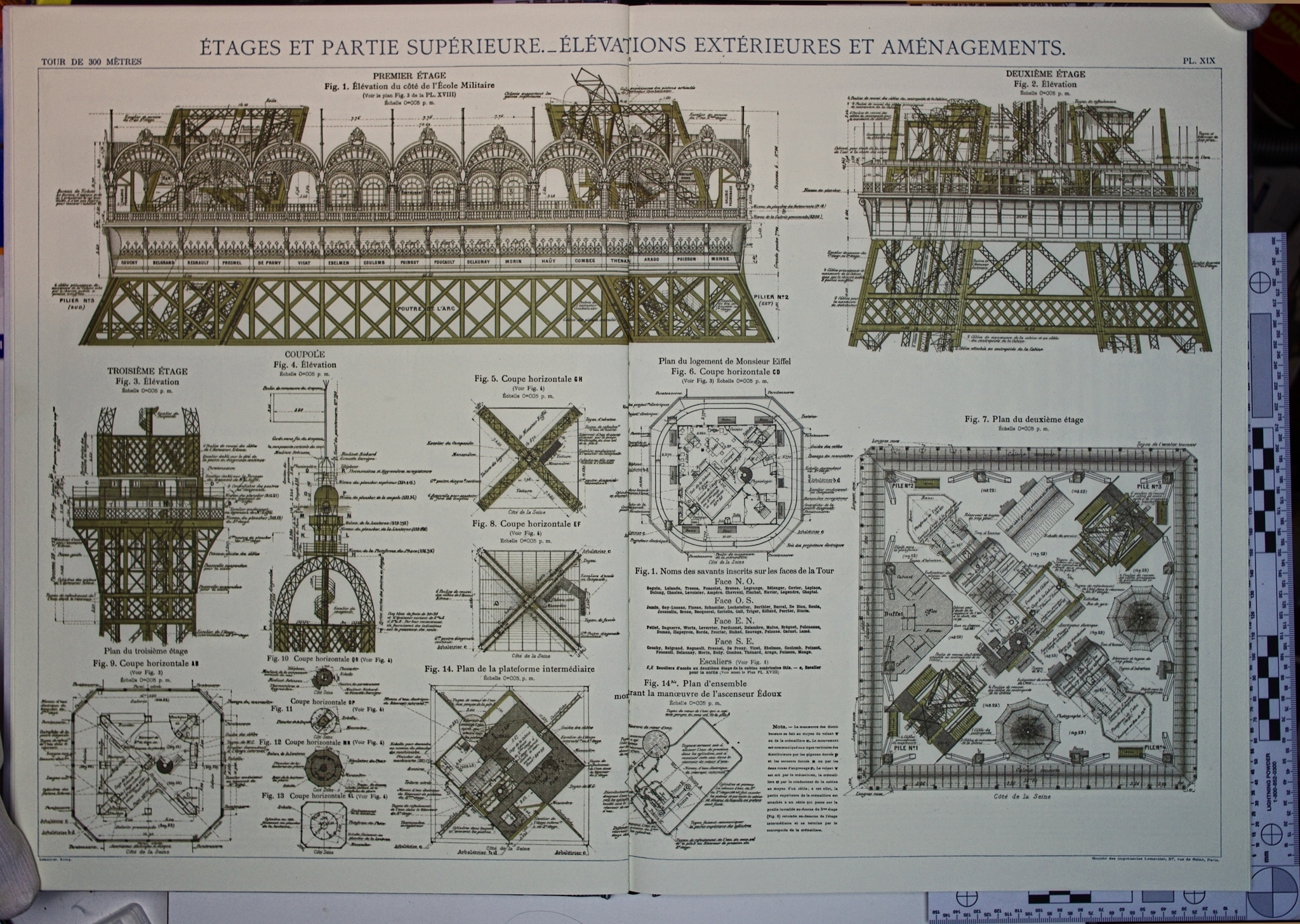 Eiffel Tower Plans