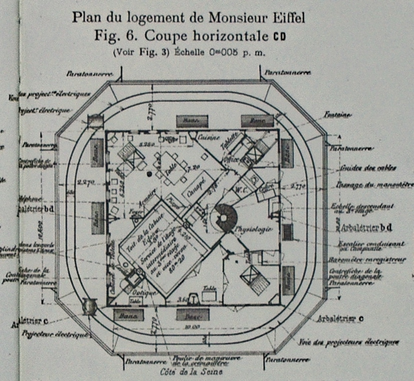 Eiffel Tower Apartment Plans