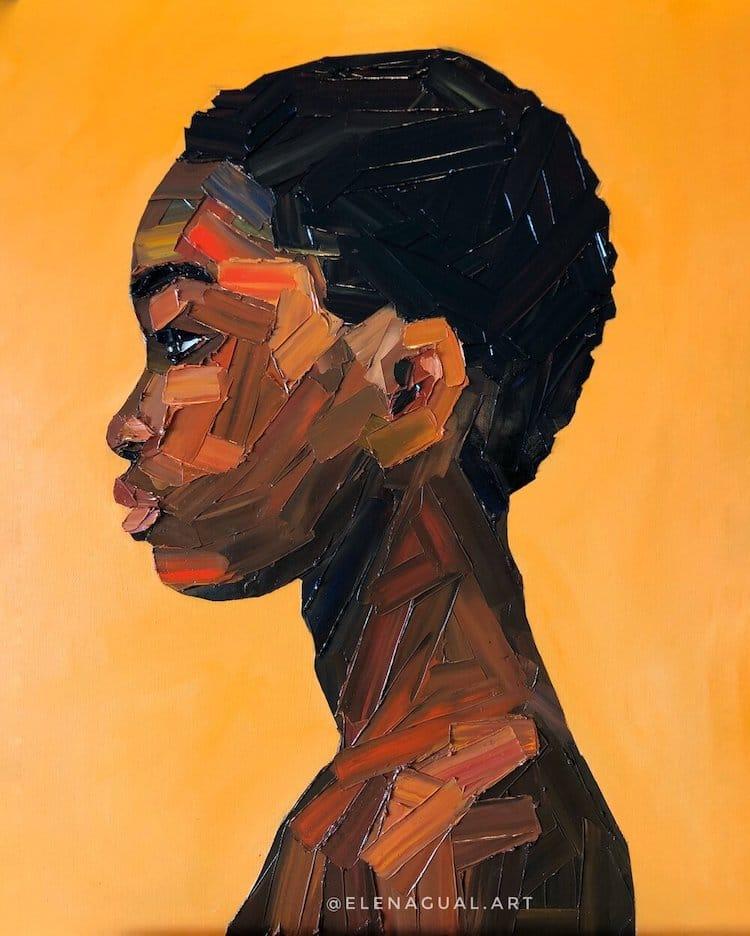Portraits de femmes par Elena Gual