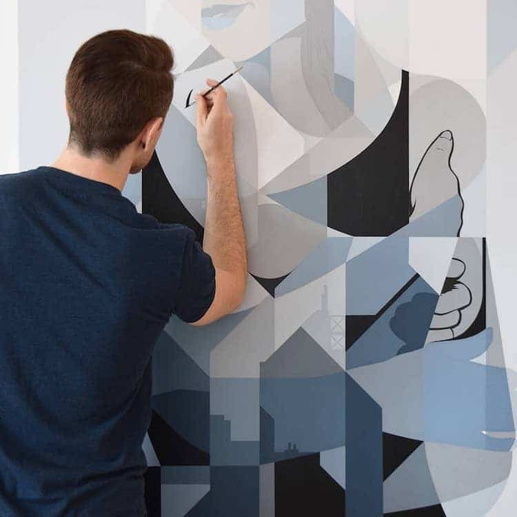 Abstract Figurative Paintings by Eric Pause
