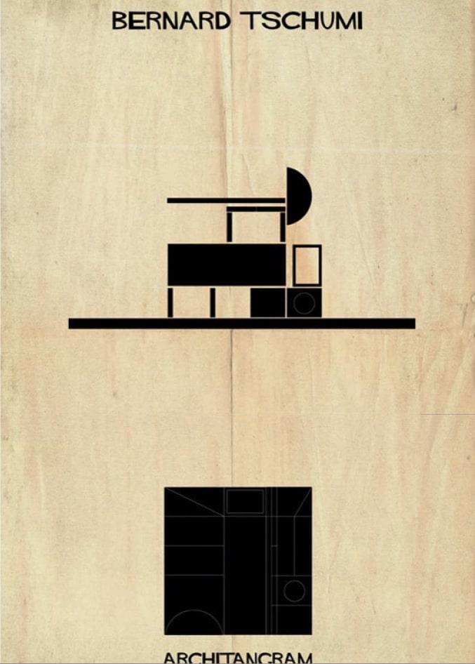 Architangram, Bernard Tschumi