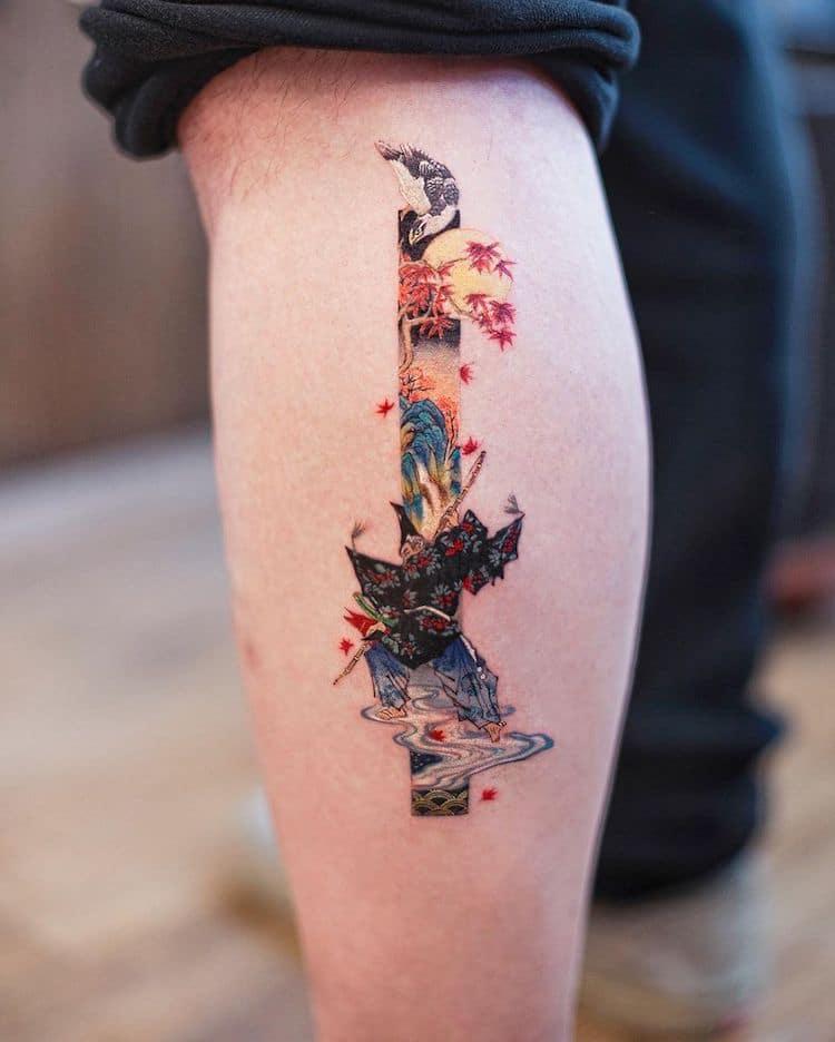 Tatuajes inspirados en el arte tradicional chino