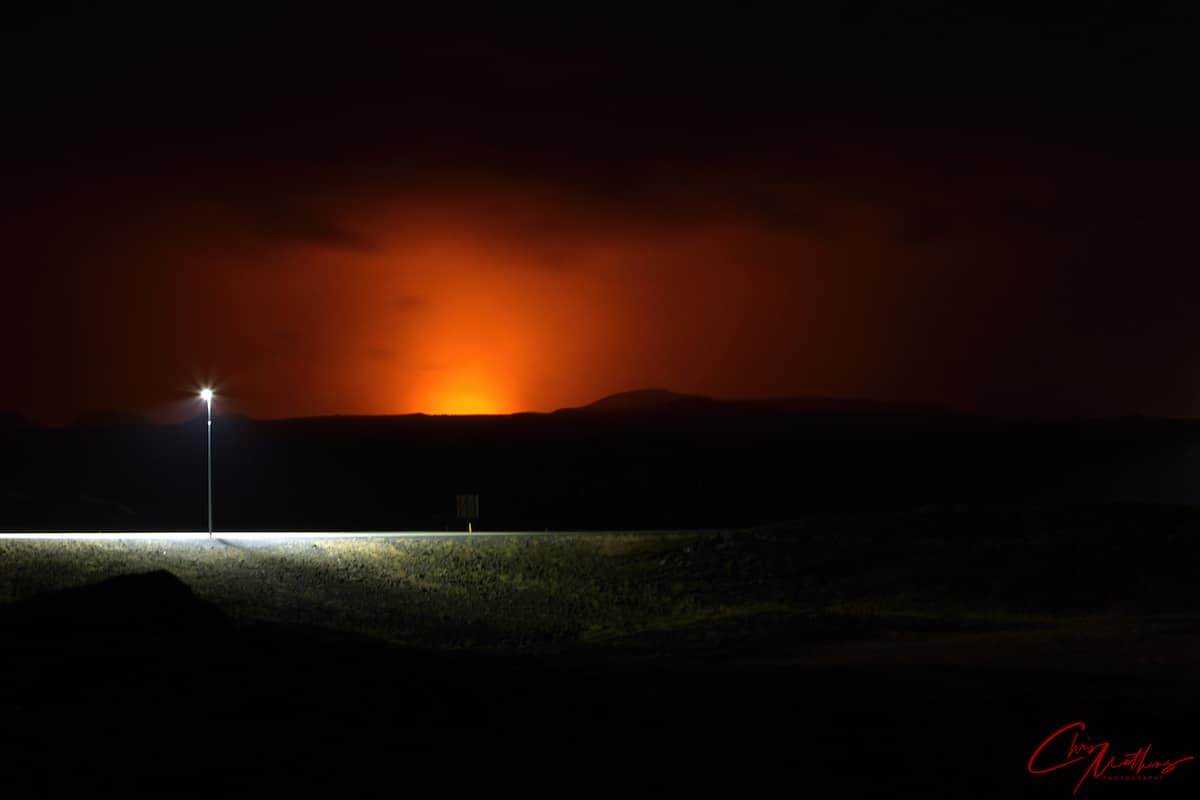 Volcano Eruption in Iceland