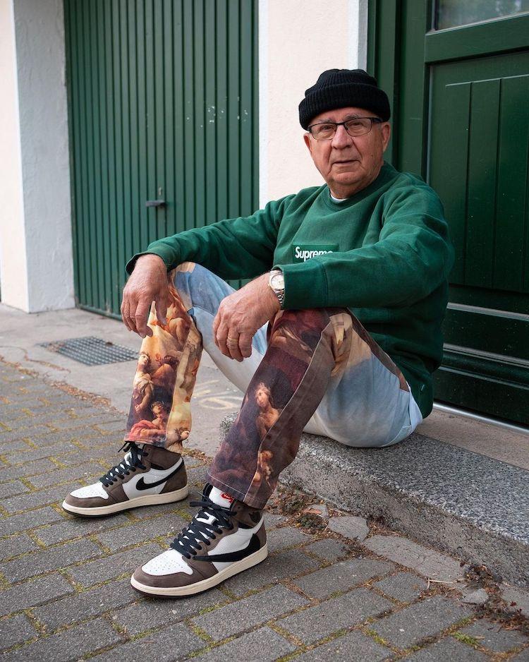 Photographie de rue de mode senior par Jannik Diefenbach