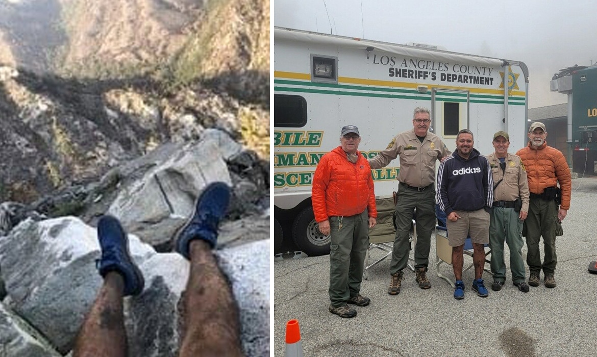 Missing Hiker Found