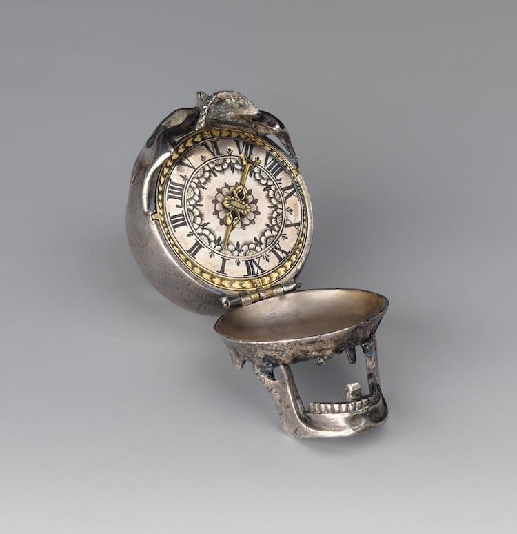 19th Century Skull Watch