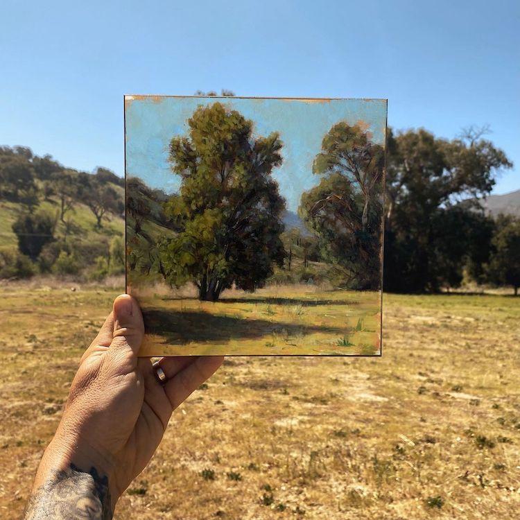 En Plein Air Paintings by Richard Oliver
