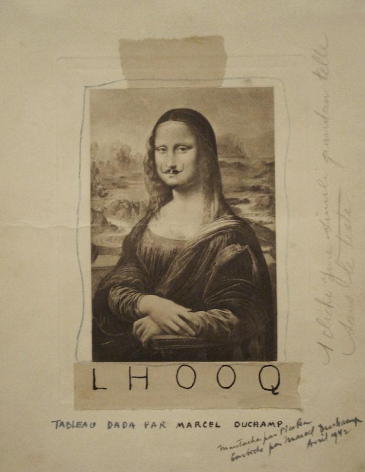 L.H.O.O.Q by Marcel Duchamp