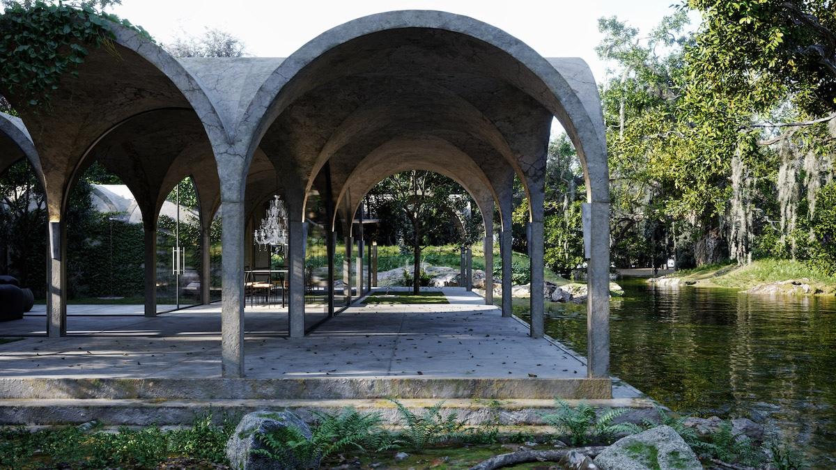 House of Four Gardens