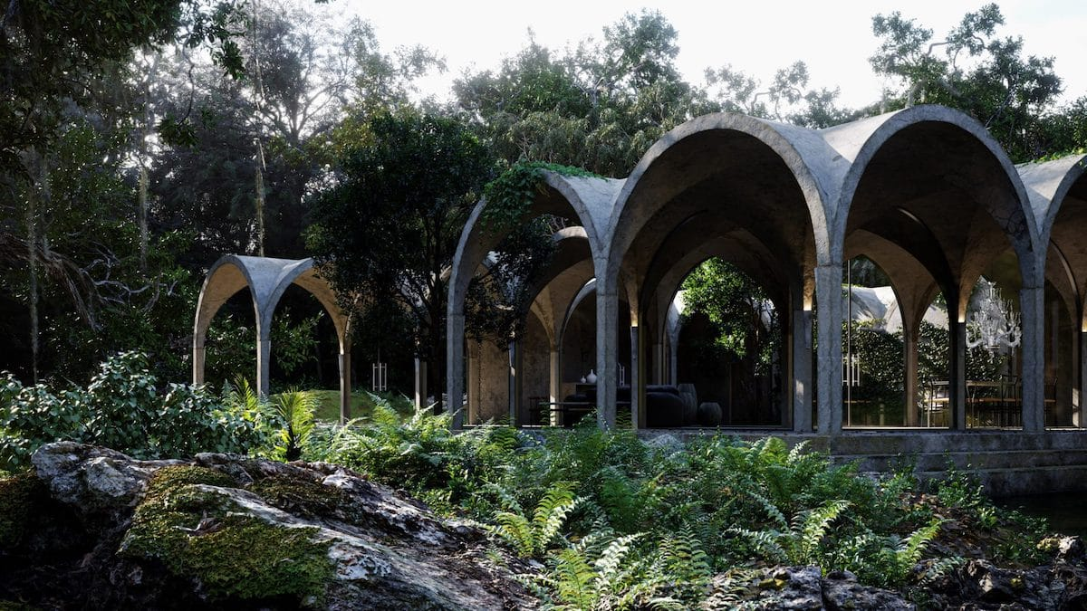 Dreamy 'House of Four Gardens' Concept Blurs the Line Between Building and Nature