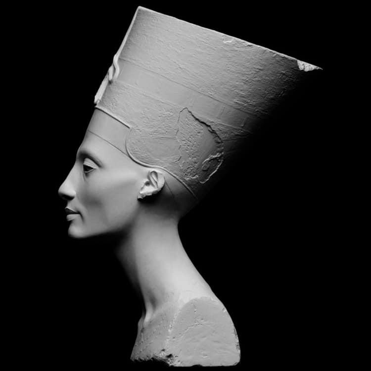 Busto de Nefertiti en Neues Museum, Berlin