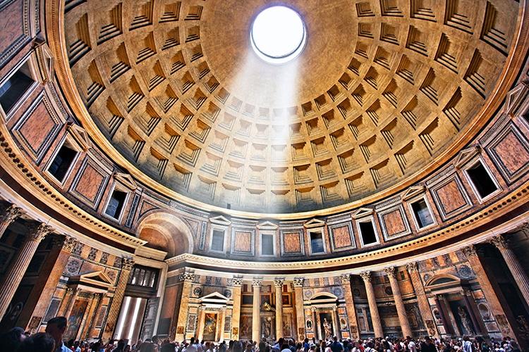 Pantheon Oculus Dome