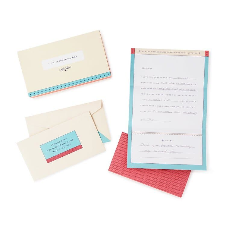 Personalized Letters to Mom