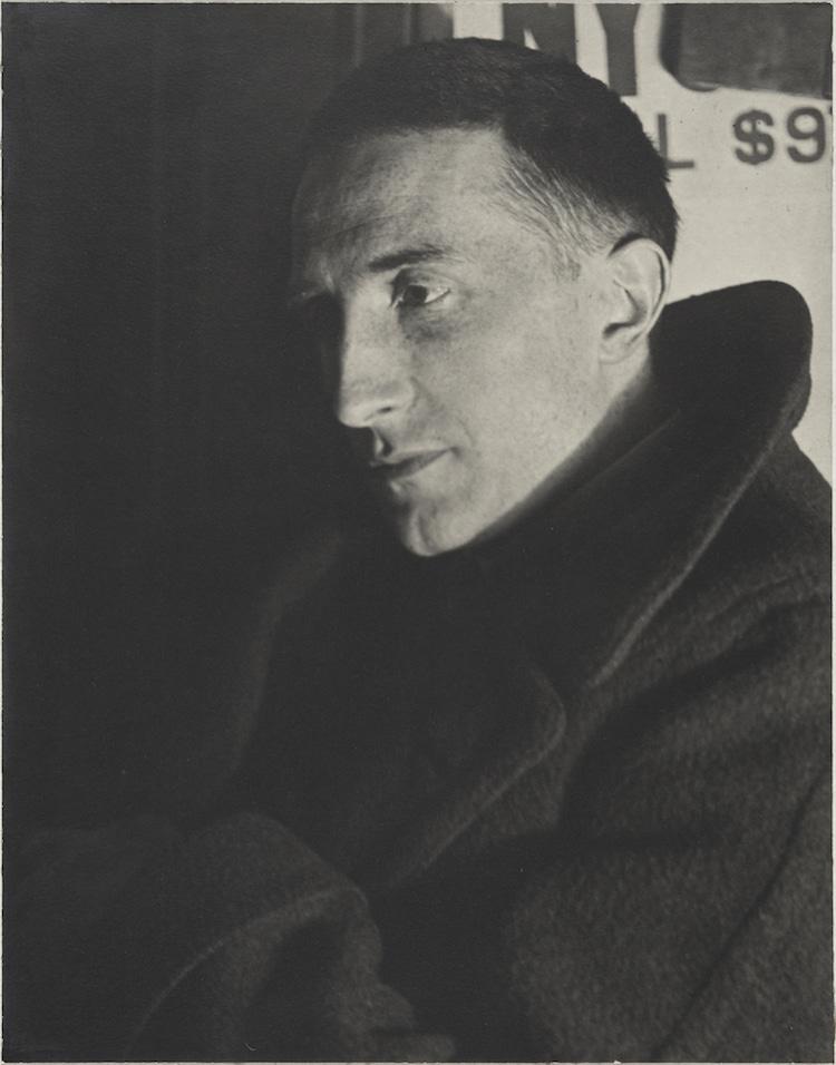 Portrait of Marcel Duchamp by Man Ray
