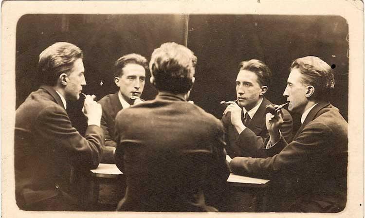 Portrait of Marcel Duchamp