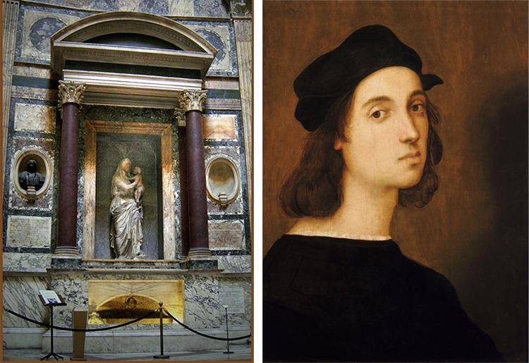 Raphael Artist Pantheon School of Athens