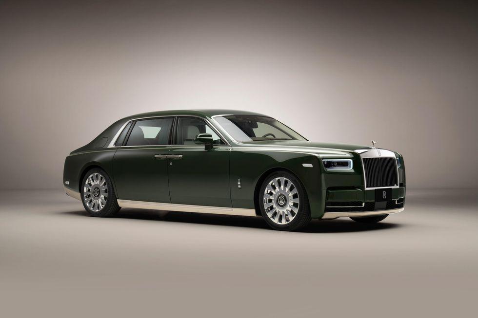 Rolls-Royce and Hermès Phantom Oribe