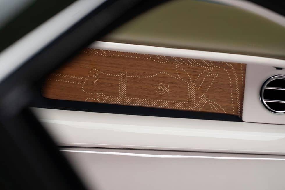 Interior Details of the Rolls-Royce and Hermès Phantom Oribe