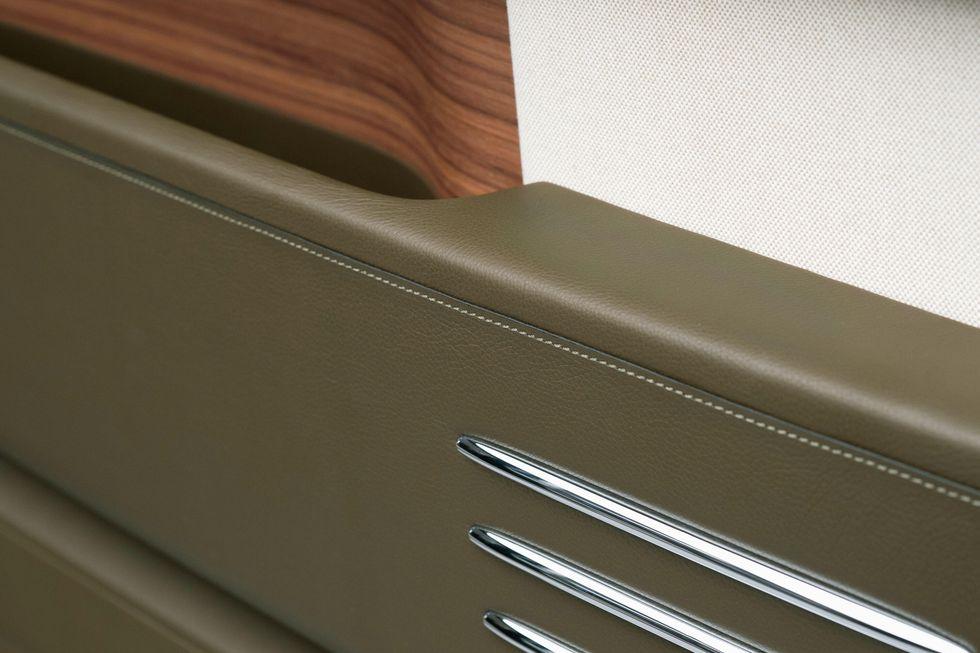 Custom Rolls Royce Interior with Hermes Leather