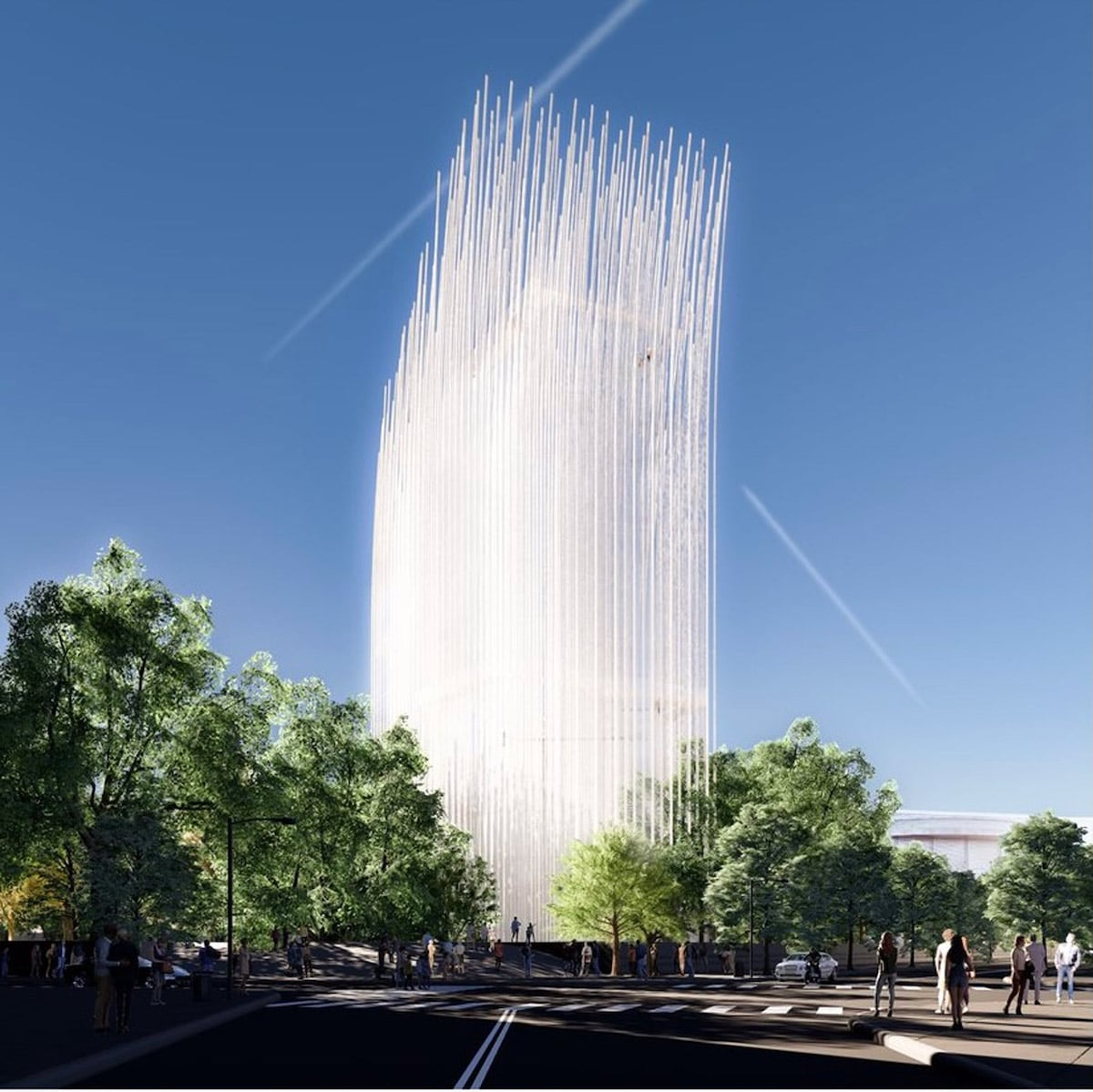 Silicon Valley's Breeze of Innovation Tower Will Be Powered by the Wind