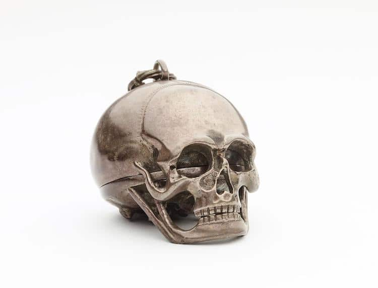 Skull Watch from the British Museum