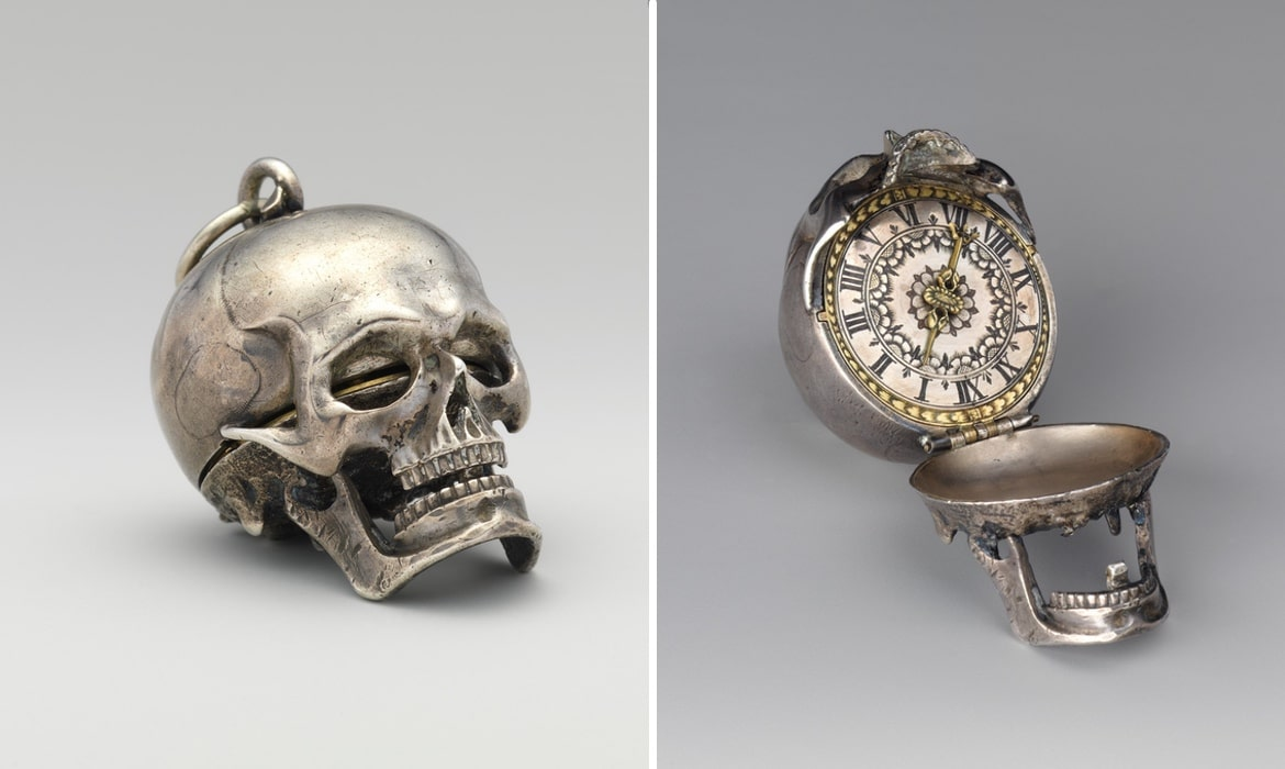 Antique Skull Watch