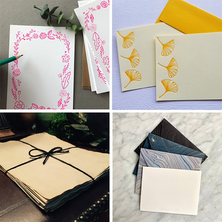 Stationary and Greeting Card Sets For The Art of Letter Writing