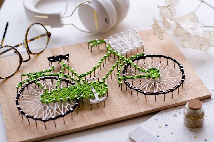 Bicycle String Art Kit