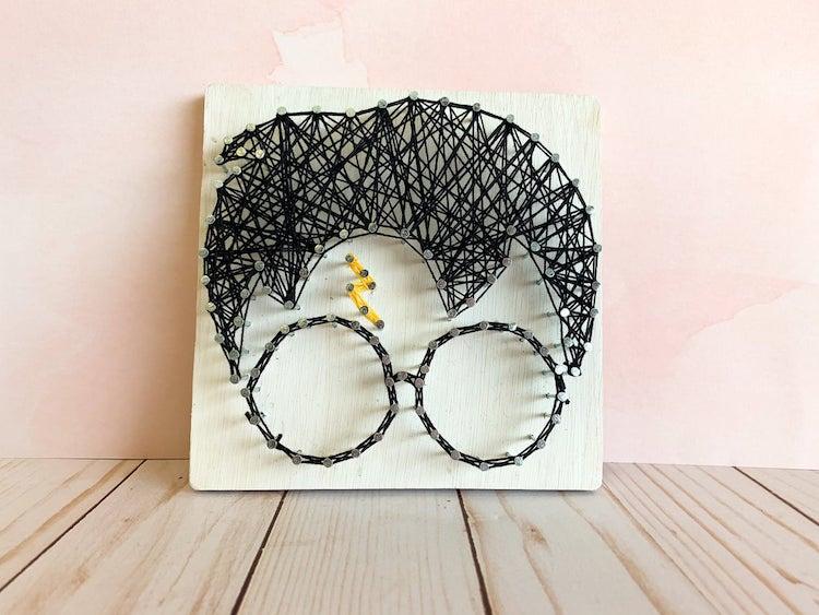 Harry Potter String Art