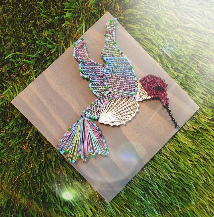Hummingbird String Art