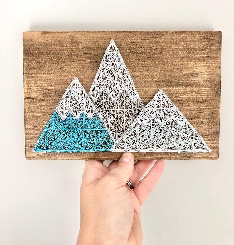 Mountain String Art Kit