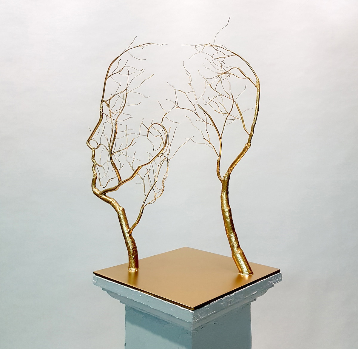 Metal Figurative Sculptures by Sun-Hyuk Kim